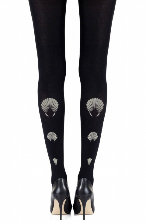 "Zohara - ""What the Shell"" Black Tights"